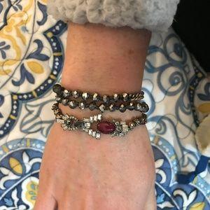 Chloe + Isabel Café Society Multi Wrap Bracelet